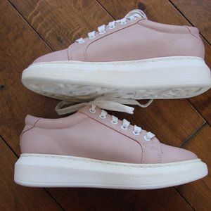 Christian Lacroix Pink Blush Low Top Sneaker Shoe